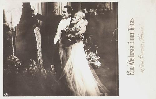 Clara Wieth and Gunnar Tolnaes in Stodderprinsessen (1920)