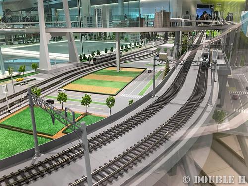 Kyoto Railway Museum (78) Museum 2F / train operating  simulator for ATC/ATS (3)