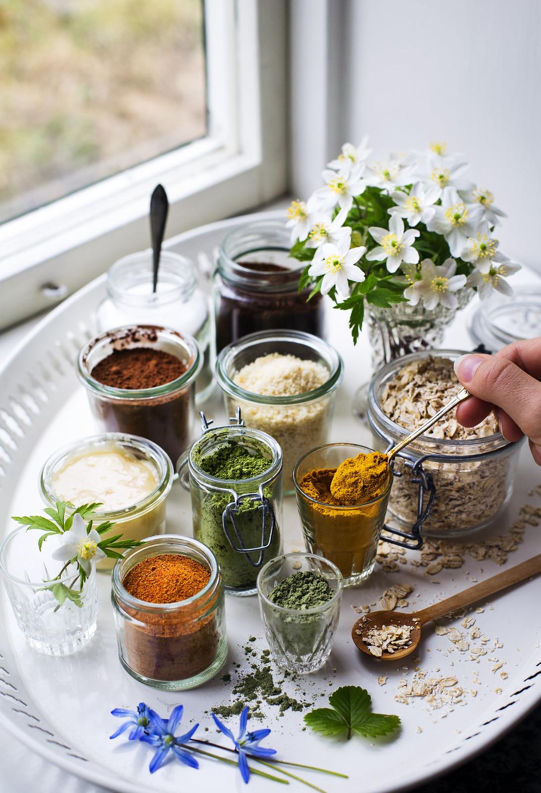 Tips på ingredienser från skafferiet till hemmagjorda hudvårdsprodukter - Evelinas Ekologiska