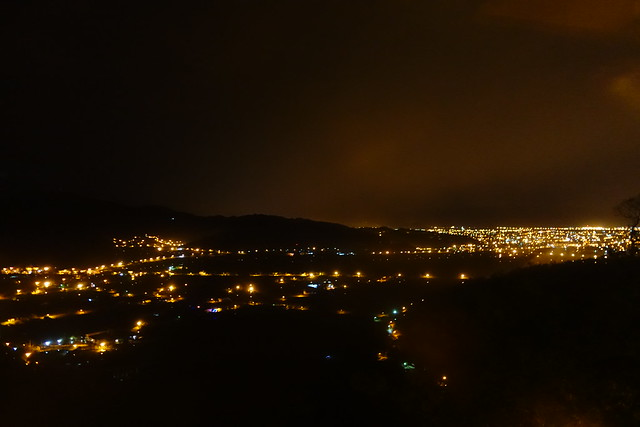 雲散了,夜景來了@宜蘭香格里拉休閒農場