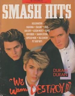 Smash Hits, December 03, 1986
