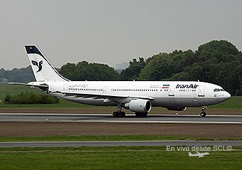 Iran Air A300-600R (A. Ruiz)