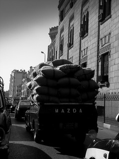 Cairo in black and white