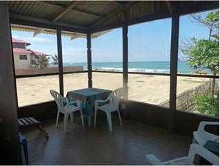 ecuador beach front ocean view