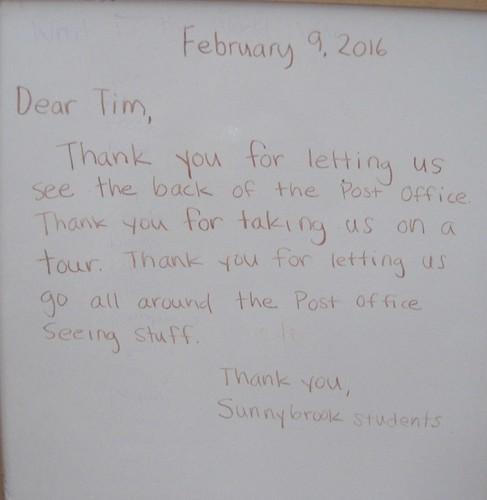 Dear Tim