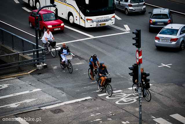 Bicycle traffic in Copenhagen