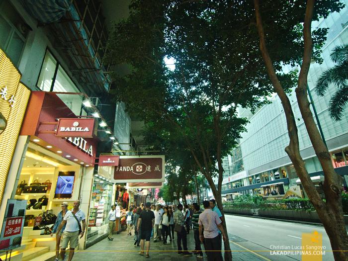 Hong Kong Walk TST Nathan Road