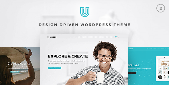 Unicon v2.3.3 - Design-Driven Multipurpose Theme