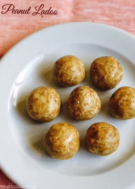 Peanut Ladoo Recipe for Toddlers and Kids 6