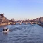 Paris / Pont Royal / Musée du Louvre / Musée d'Orsay