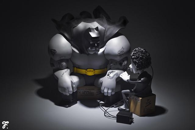 【玩具人LunchBoxTW投稿】愚者樂園出品Batman開箱影片