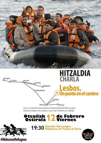 Hitzaldia Lesbos