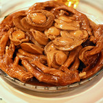 Braised Whole Canned Abalone with Chinese Mushroom and Goose Web