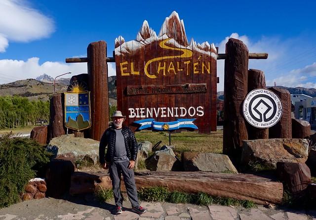 Leaving El Chaltén