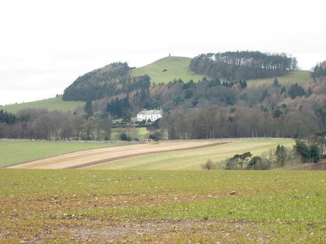 landscape and Hill of Tarvit House