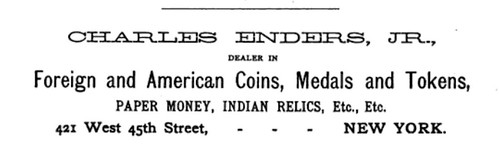 ENDERS AJN 1890 ad
