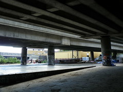 GOC Walthamstow to Stratford 136: A12 underpass, Hackney