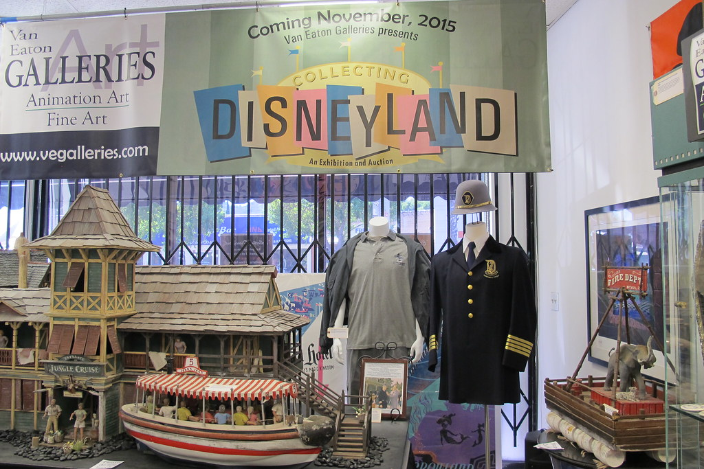 Disneyland auction at Van Eaton Galleries