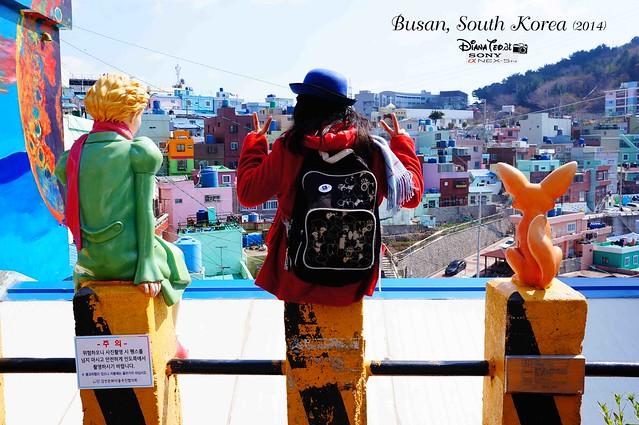 South Korea 2014 - Day 02 Busan Gamcheon Culture Village 04