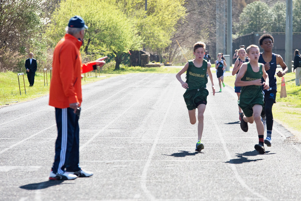 jack's first track meet finish