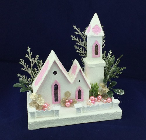 white and pink putz church