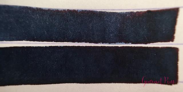 Ink Shot Review Goldpen Mezzanotte Blue-Black (5)