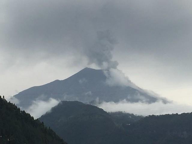 Volcán Tungurahua. Baños. Ecuador