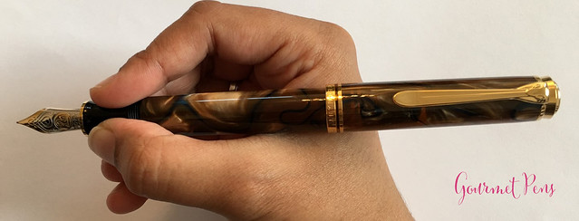 Review Pelikan Souverän M800 Grand Place Fountain Pen @AppelboomLaren (13)