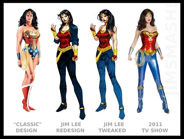 Wonder Woman modern costumes