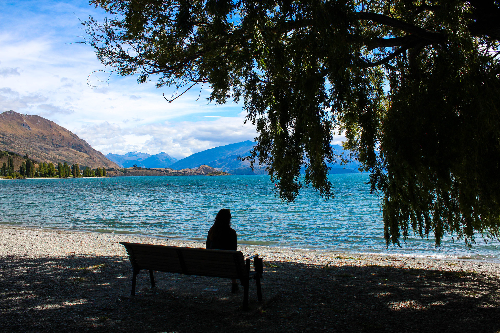 Wanaka Recreation Reserve (view of Lake Wanaka)