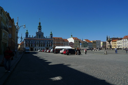 Cesky Budejovice, South Bohemia, Czech