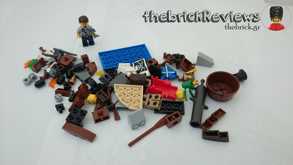 ThebrickReview: LEGO 70409 Shipwreck Defense (Pic Heavy!) 26058717830_fa819d164d_b