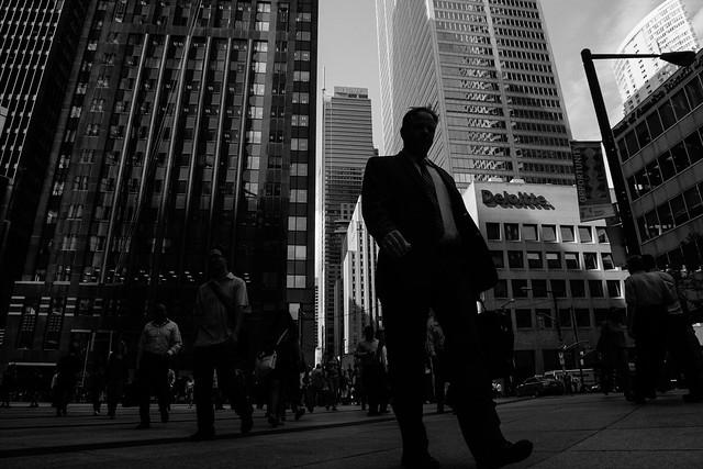 Toronto downtown - dreamland of corporate slave
