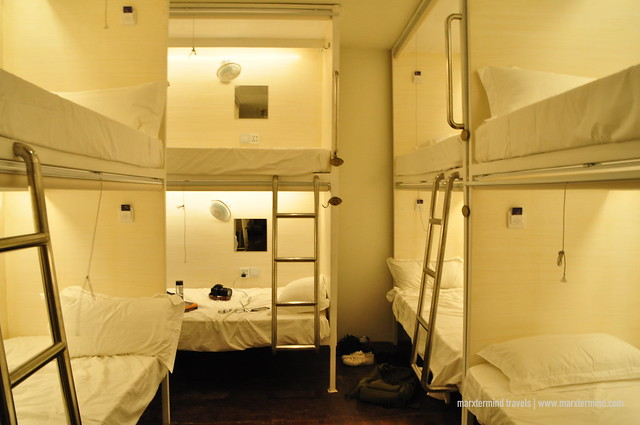 Tambayan Hostel Malate Capsule Beds at Mixed Dorm Room