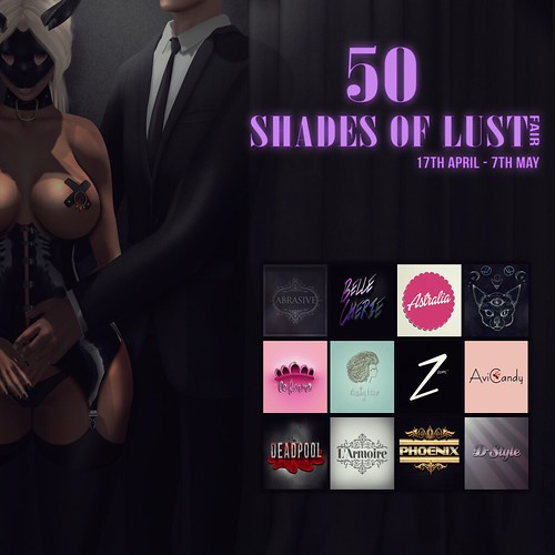 50 Shades Of Lust Fair2 Flyer