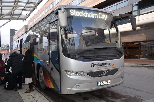 Stockholm bus Feb 16