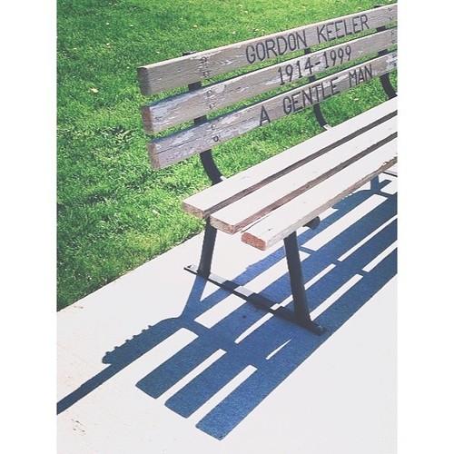 April 7 - I sat here