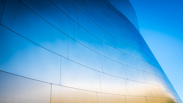 Walt Disney concert hall - Los Angeles, United States - Abstract photography