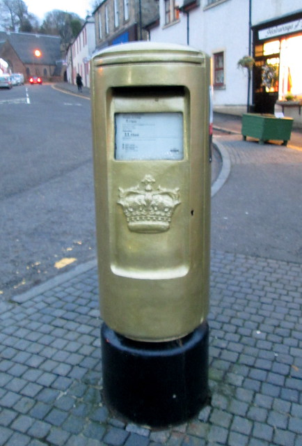 Dunblane Postbox 2