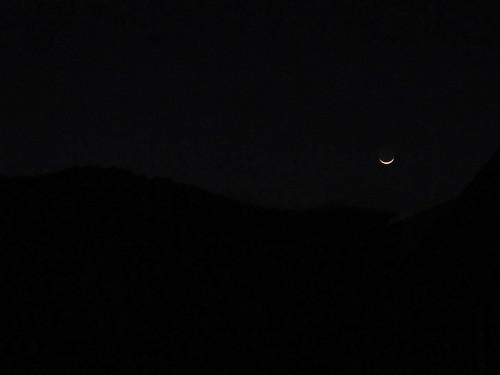 Antigua: la lune sourit ce soir...