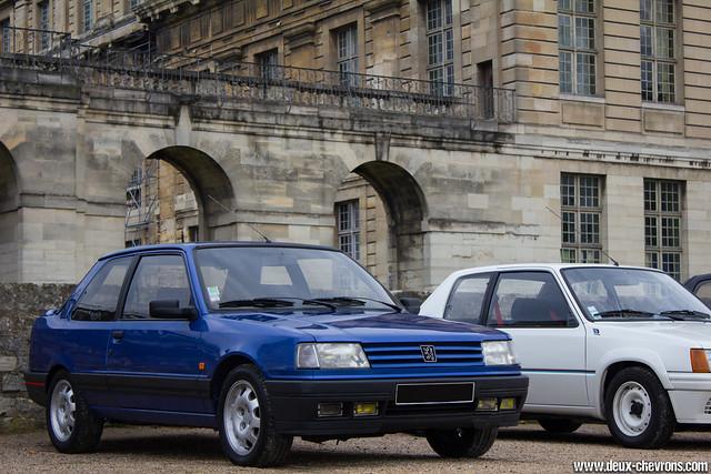 Vincennes en Anciennes 09/2011 - Peugeot 309 GTi