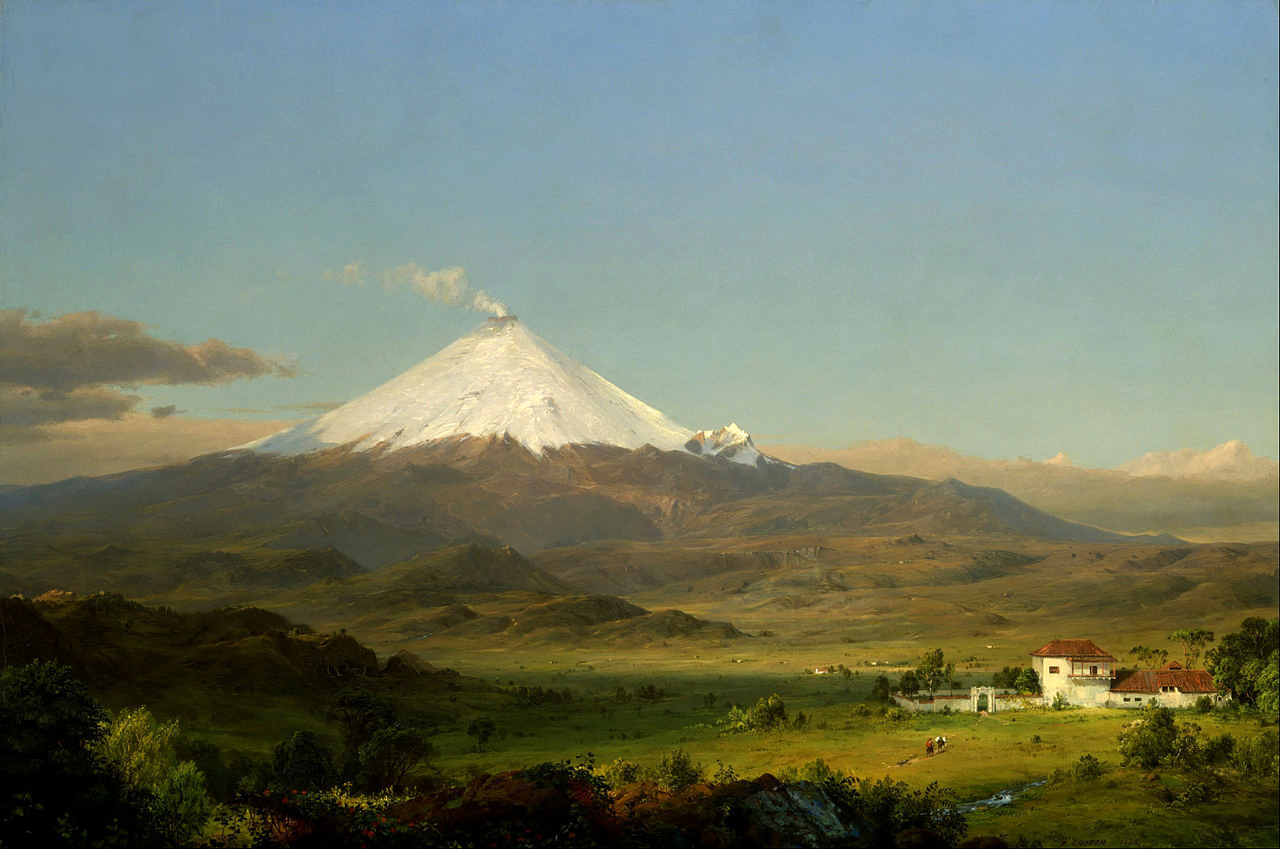 Cotopaxi by Frederic Edwin Church, 1855