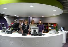 New Service Desk in James Joyce Library