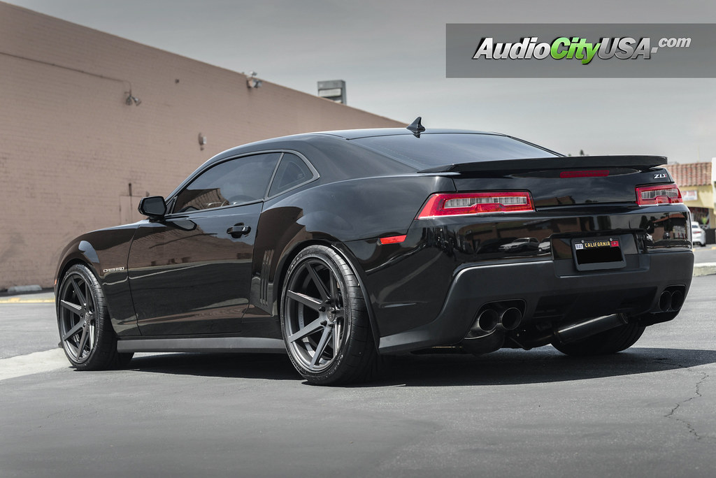 2015 chevy camaro zl1 20quot rohana wheels rc 7 goodyear