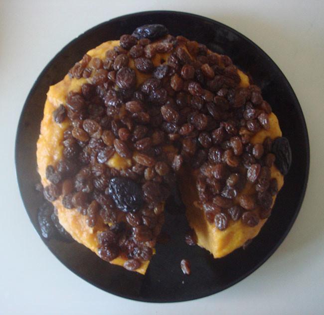 南瓜葡萄枣子糕