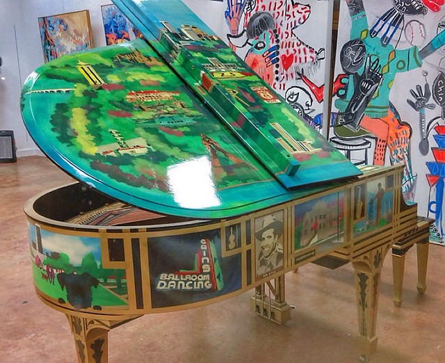 Tulsa Themed Piano