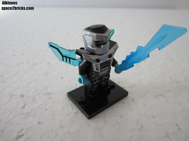 Lego Minifigures S15 le robot laser