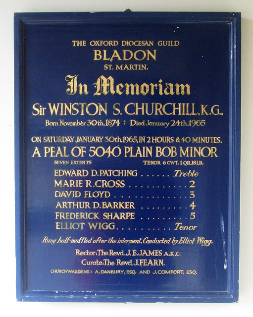 Churchill Memorial Plaque