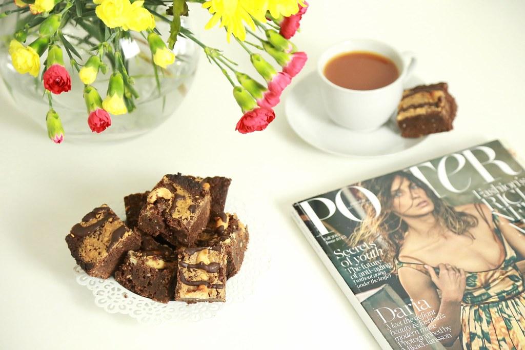 peanutbutter, proteinbrownies, brownies, krystelcoutureblog,