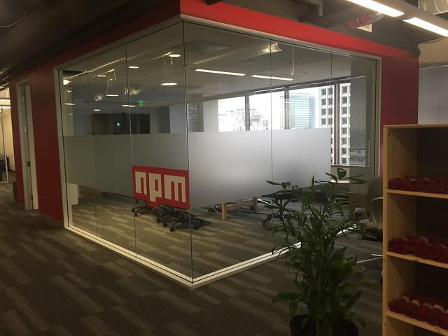 npm 사무실